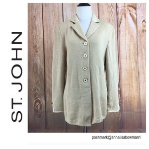 ⭐️ST John Collection Collared Cardigan Size 6